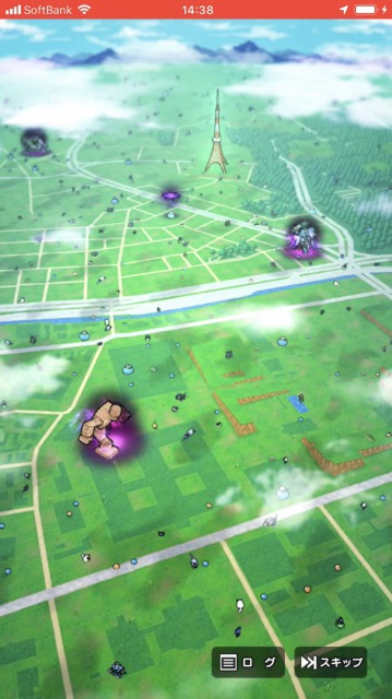 ドラゴンクエストウォーク-日本地図4