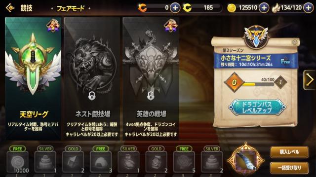 ドラゴンネストM-闘技場